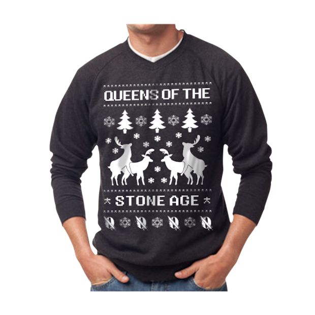 Queens of the Stone Age, Death From Above 1979 Get Their Own Christmas Sweaters   Pitchfork