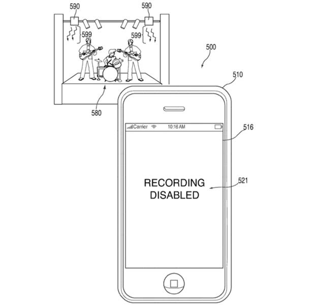 Apple, gli iPhone non riprenderanno durante i concerti?