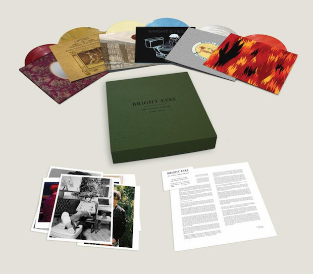 Image result for bright eyes studio albums vinyl box
