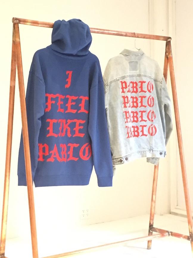 Kanye west inside kanye west 39 s the life of pablo pop up for Life of pablo merch