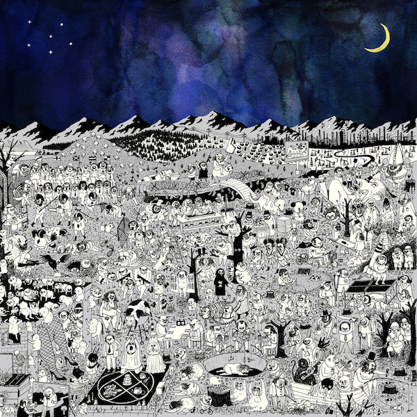 Image result for album art Father John Misty: Pure Comedy
