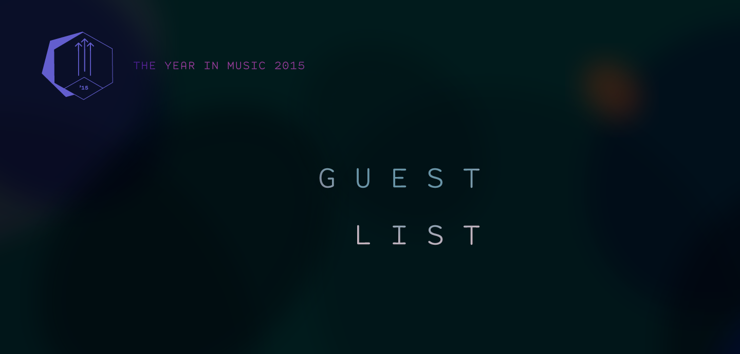 Staff Lists: Guest List: Best of 2015