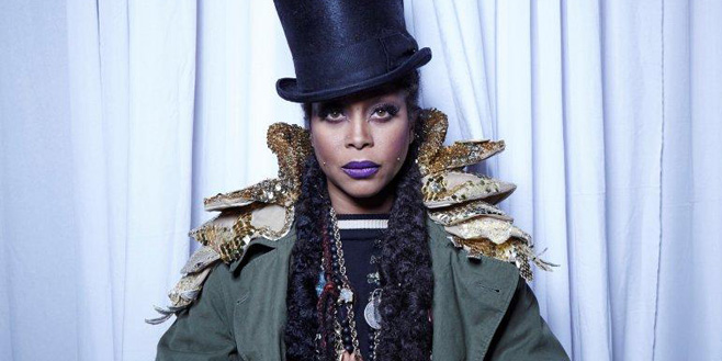 Interviews: Life on the Line: A Telephone Conversation With Erykah Badu
