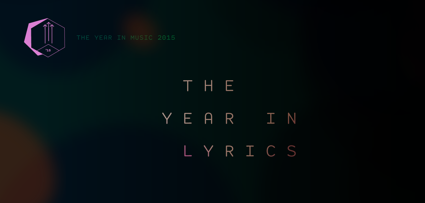 Staff Lists: The Year in Lyrics 2015