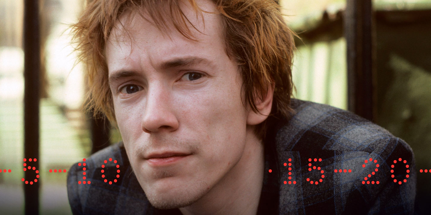 5-10-15-20: John Lydon on the Music That Made Him