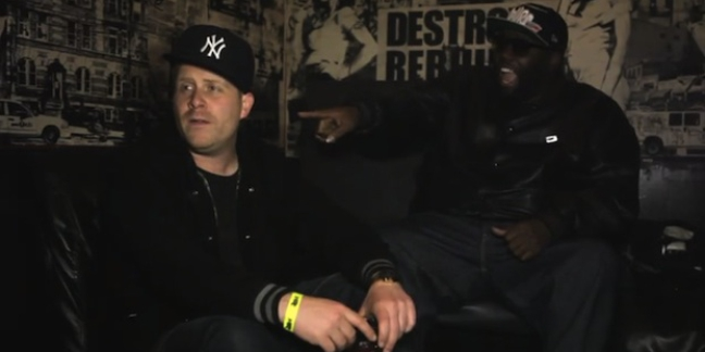 "Watch El-P Perform ""The Full Retard"" at His Album Release Party, Chat, Tickle Killer Mike"