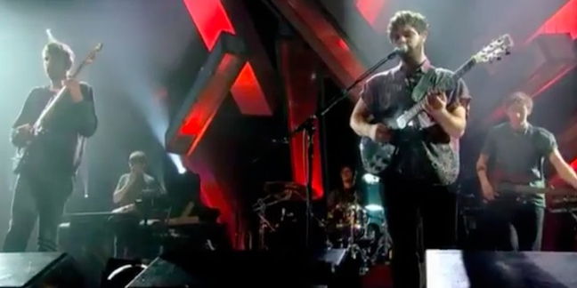 "Watch Foals Perform a New Song on ""Jools Holland"""