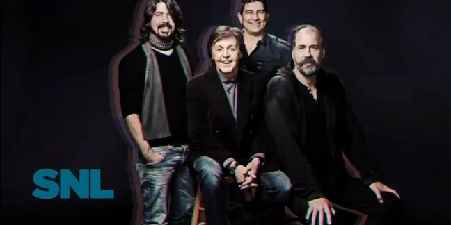 "Watch Paul McCartney Front Nirvana Again on ""SNL"""