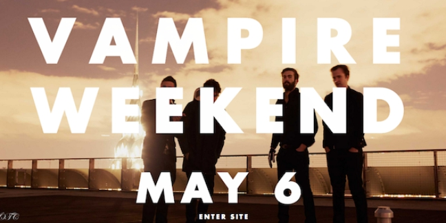 Listen to Vampire Weekend Perform a New Song