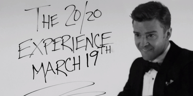 Justin Timberlake Reveals Album Release Date