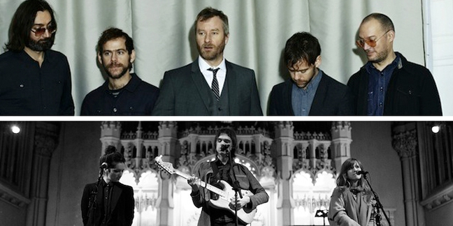 The National and Dirty Projectors