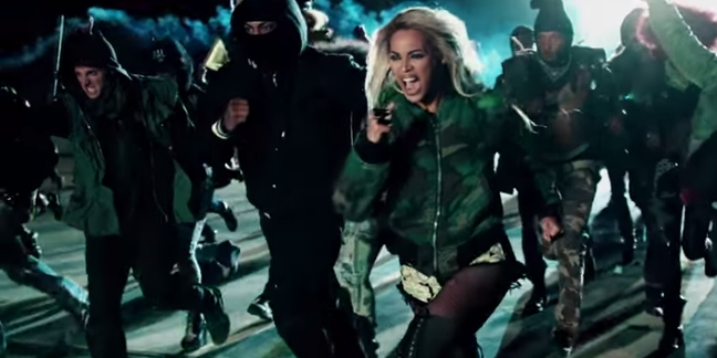 "Beyoncé Shares Behind the Scenes Video for ""Haunted"" and ""Superpower"""