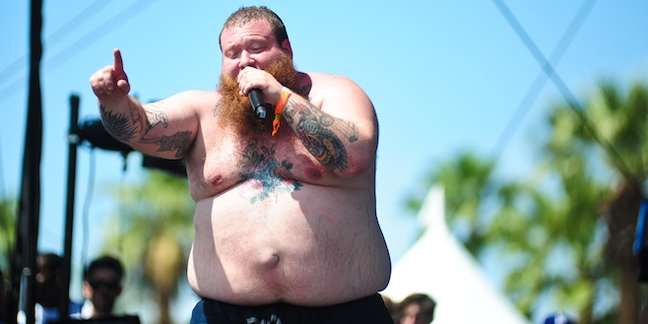 Action Bronson Plays Santa, Gives Away TV, Xbox, More During Show