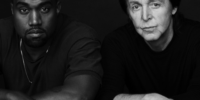 "Kanye West and Paul McCartney Team Up for ""Only One"""