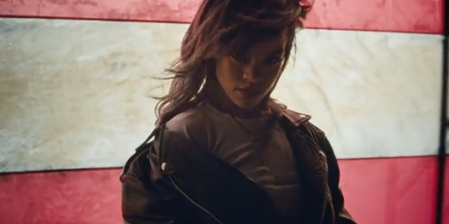 "Rihanna Shares Politically-Charged ""American Oxygen"" Video"