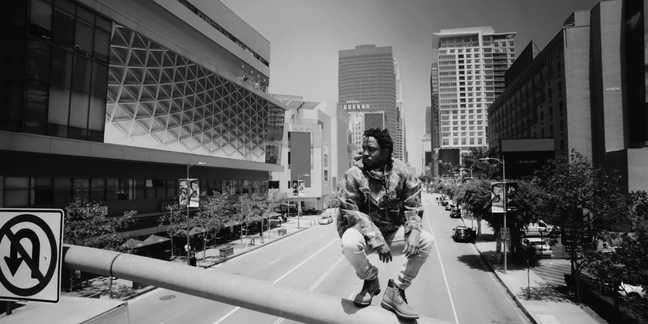 "Kendrick Lamar Does Crazy Stunts in the ""Alright"" Video"