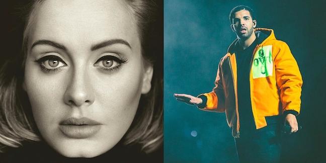 "Adele and Drake Want Adele to Remix ""Hotline Bling"""