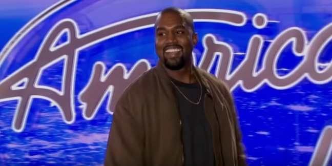 """Kanye West Appears in Commercial for Final Season of """"American Idol"""""""