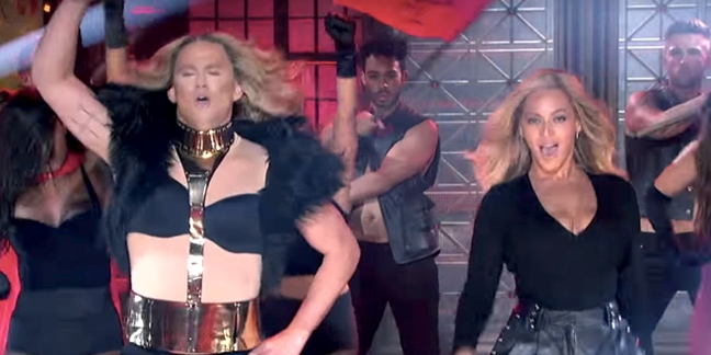 "Beyoncé Joins Channing Tatum for ""Run the World (Girls)"" on ""Lip Sync Battle"""