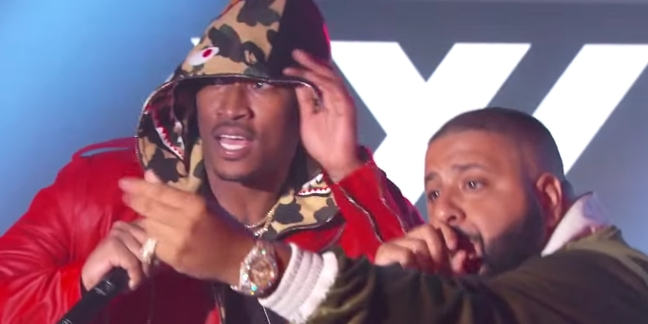 "DJ Khaled Brings Out Future for ""Jimmy Kimmel Live"" Medley"