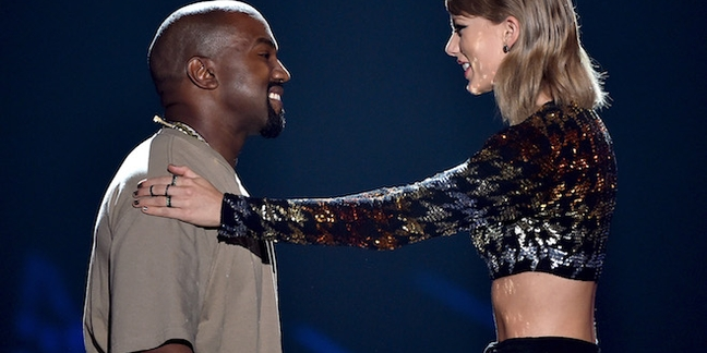 """Kanye on Taylor Swift Controversy: """"It's Actually Something Taylor Came Up With"""""""