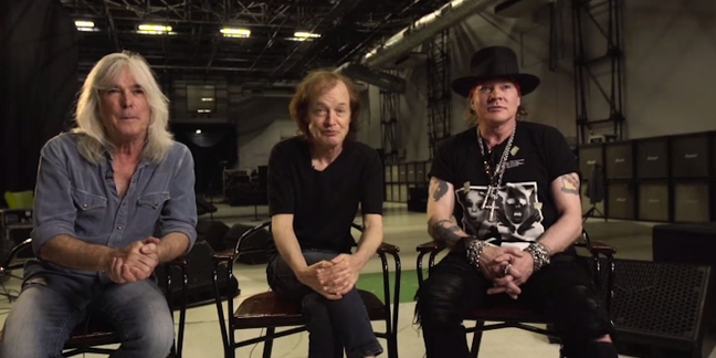 Watch Axl Rose Appear With AC/DC for the First Time