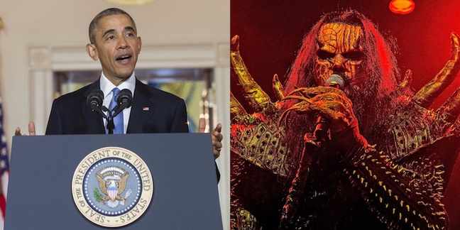 president obama familiar with finlands heavy metal scene