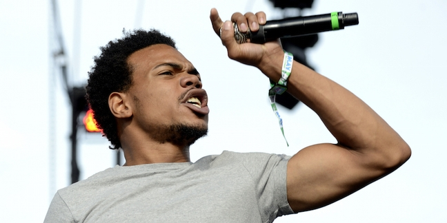 Chance the rapper 39 s coloring book first streaming Coloring book chance the rapper vinyl