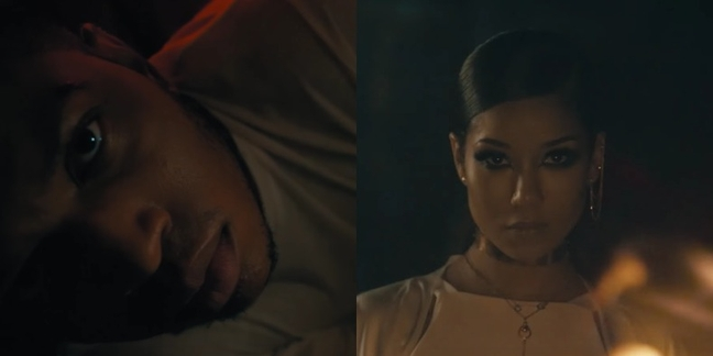 """Watch Jhené Aiko and Gallant in Dramatic New """"Skipping Stones"""" Video"""