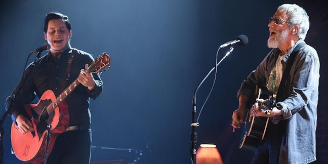 """Watch Jack White and Cat Stevens Perform """"Where Do the Children Play"""""""