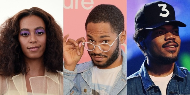 Kaytranada Shares New Chance The Rapper Solange Remixes Coloring Book