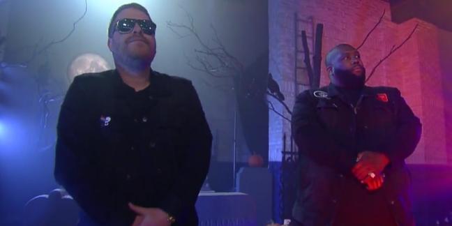 "Watch Run the Jewels Perform ""The Halloween Wiggle"" on ""Colbert"""