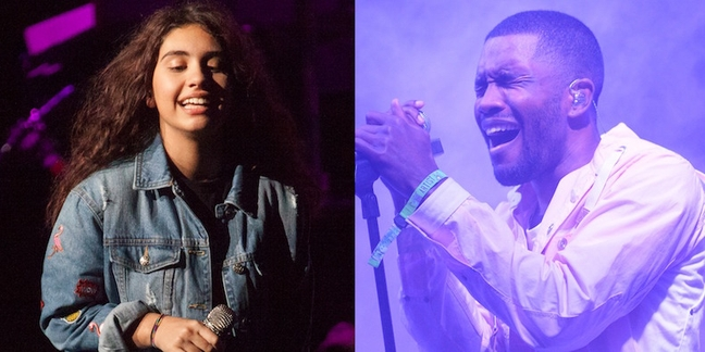 "Listen to Alessia Cara Cover Frank Ocean and Earl Sweatshirt's ""Super Rich Kids"""