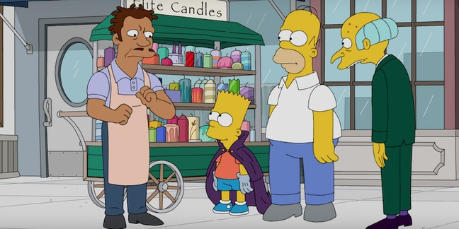 """Watch a Clip From """"The Simpsons"""" Great Gatsby Hip-Hop Episode"""