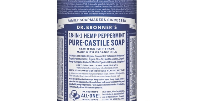 Dr. Bronner Album to Be Released (Yes, the Soap Guy)