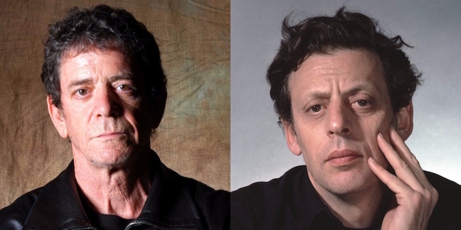 Giant Lou Reed, Philip Glass Portraits Decorate NYC's New Second Ave Subway