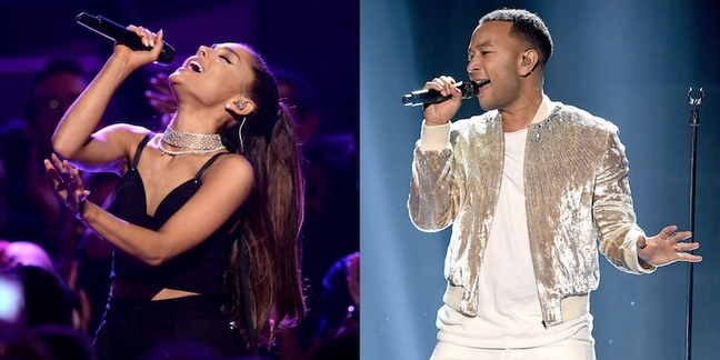 Ariana Grande and John Legend Singing Beauty and the Beast Theme for New Film