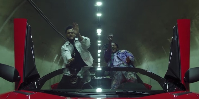 "Watch Drake, A$AP Rocky, Travis Scott, YG in the Weeknd's New ""Reminder"" Video"