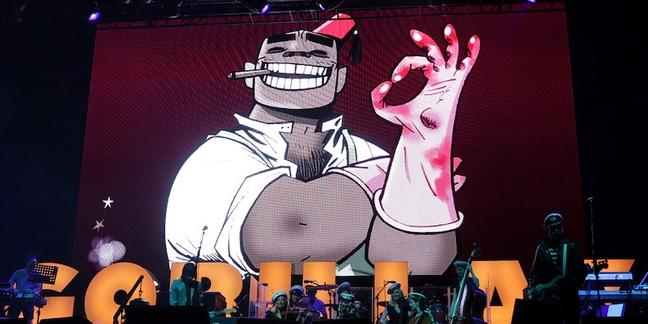 Gorillaz Launch New Album Humanz Listening Party