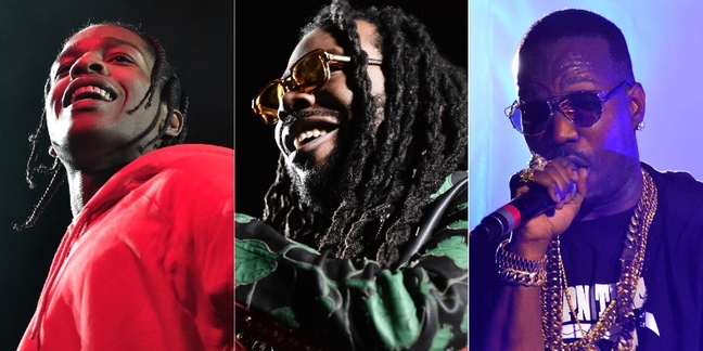 "D.R.A.M. Enlists A$AP Rocky and Juicy J for New Song ""Gilligan"": Listen"