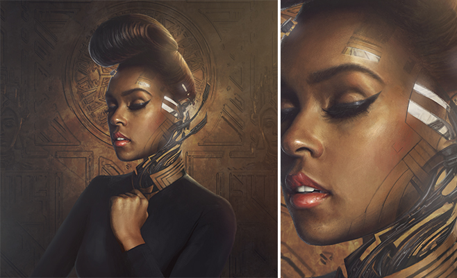 Take Cover: Janelle Monáe's The Electric Lady | Pitchfork  Take Cover: Jan...