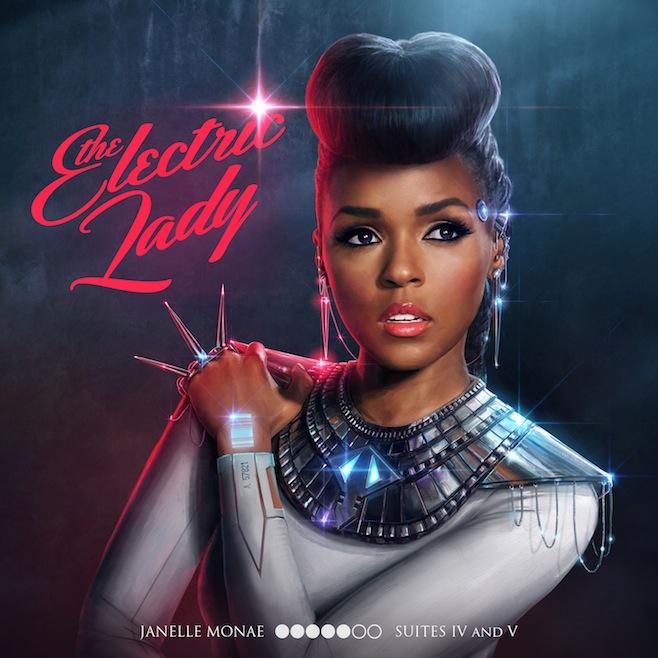 Janelle Monáe Reveals Electric Lady Tracklist Featuring ...  Janelle Monáe ...