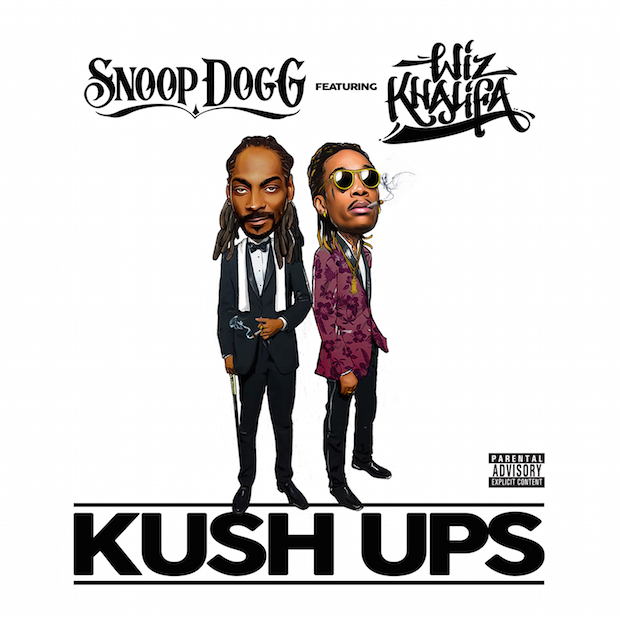 """Snoop Dogg and Wiz Khalifa Join for New Song """"Kush Ups"""": Listen - @Pitchfork.com Artes & contextos kushups"""