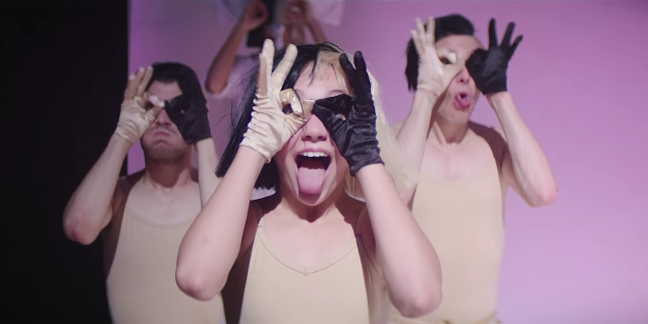 """Sia Shares """"Cheap Thrills"""" Video Starring """"Chandelier"""" Dancer Maddie Ziegler"""
